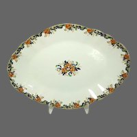 "19th Century J. Maddock & Sons Ltd Royal Vitreous 'Majestic' 19"" Serving Platter"