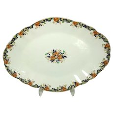 "19th Century J. Maddock & Sons Ltd Royal Vitreous 'Majestic' 19"" Serving Platter"