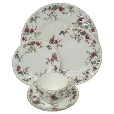 Vintage Minton 'Ancestral' 5-Pc Placesettings