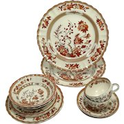 Spode 'Indian Tree' 5-Pc Placesettings for Two