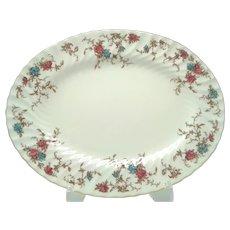 """Vintage Minton 'Ancestral' 12"""" Oval Serving Platter"""