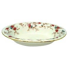 Vintage Minton 'Ancestral' Oval Vegetable Serving Bowl