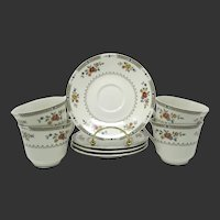 Royal Doulton 'Kingswood'  #TC1115  Cups & Saucers  - Set of 4