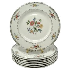 Royal Doulton 'Kingswood' Salad Dessert Plates - Set of 7