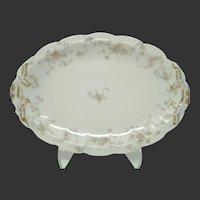 Antique French Haviland & Co. Limoges 'The Princess' Serving Platter