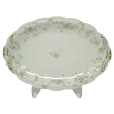 Antique French Haviland & Co. Limoges 'The Princess' Serving Platter
