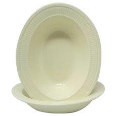 Wedgwood 'Edme' 2 Oval Vegetable Bowls