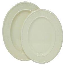 Wedgwood 'Edme' 2 Oval Serving Platters