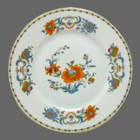 Set of 4 Raynaud Ceralene Limoges VIEUX CHINE Polychrome Plates