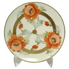 Thomas Bavaria Poppies Motif Plate