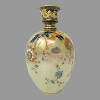 Early Royal Crown Derby HP Vase