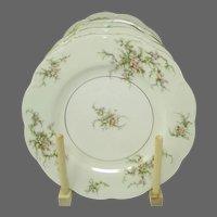 Theodore Haviland (New York) ROSALINDE  Plates - Set of 5