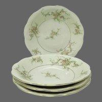 Theodore Haviland (New York) ROSALINDE  Soup Bowls  ~ Set of 4