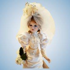 Gorham Valentine's Ladies Porcelain Bride doll