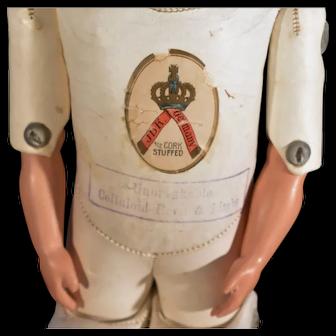 19th Century doll kid body