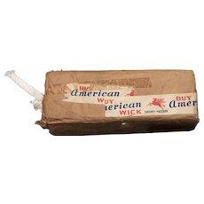 1907 Original Buy American Wick Full Package
