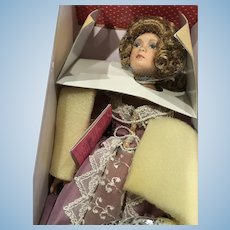 Treasury Collection Paradise Galleries Premiere Edition Lady Jane Vintage Bisque Porcelain Doll