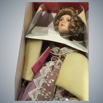 Treasury Collection Paradise Galleries Premiere Edition Lady Jane Vintage Bisque Porcelain Doll