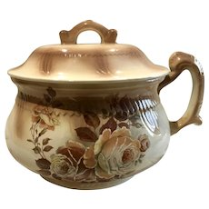 Antique Porcelain Chamber Pot