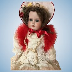 Antique French Doll Armand Marseille 20""