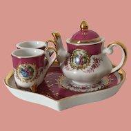 Miniature Tea Set French Romantic