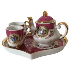Miniature Tea Set French Romantic