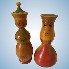 Kokeshi Dolls Tourist Male and Female
