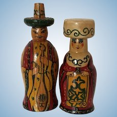 Russian Wooden Dolls signed