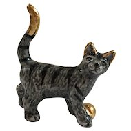 Cat Figurine Tabby Collectable Cat Ornament