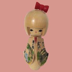 Kokeshi Doll Japanese 7 inches