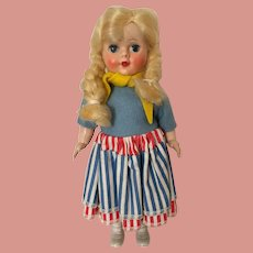 Swedish Character Doll made in England 7 inches