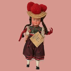 Black Forest Doll made in West Germany