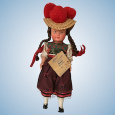 Gura Black Forest Doll made in West Germany