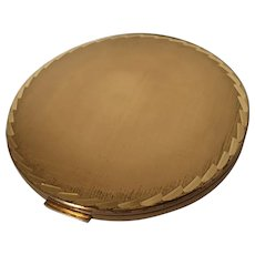 Gold Compact by Stratton England