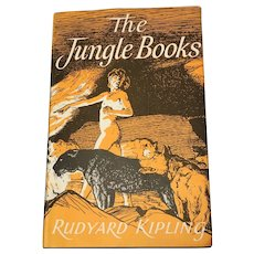 1955 The Jungle Books by Rudyard Kipling illustrated by Stuart Tresilian