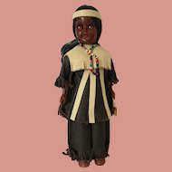 Native American Character Doll Mono Chief A811