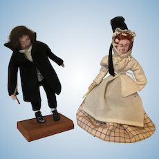 Charles Dickens Character Dolls by Edith Russell