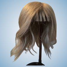 Blonde Wig for a Jumeau DEP 11 or similar large doll