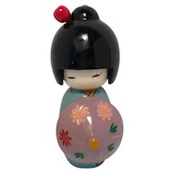 Japanese Kokeshi Doll  Geisha 6 inches