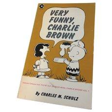 Vintage Charlie Brown Peanuts Book Very Funny, Charlie Brown Paperback