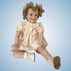 Danbury Mint Collectable Porcelain Shirley Temple Doll by Elke Hutchens