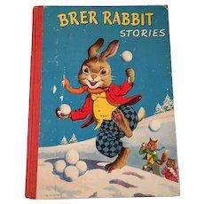 Brer Rabbit Stories 1950sVingtage 1950s Childrens