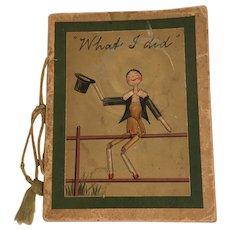 Antique Edwardian Book by Kathleen Ainslie Peg Dolls Penny Wooden Grodnertal Interest
