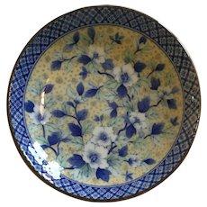 Small Floral Porcelain Trinket Dish marked
