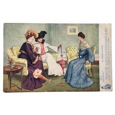 Vintage Rapheal Tuck Postcard Oilette 9146