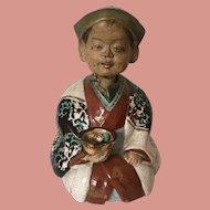 Asian Figurine Doll Nodder