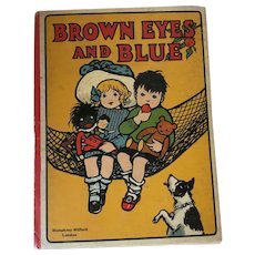 Vintage Childrens Book Brown Eyes and Blue 1930s/40s Published by Humphrey Milford