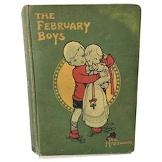 Mabel Lucie Attwell Illustrated Vintage Book The February Boys by Mrs Molesworth