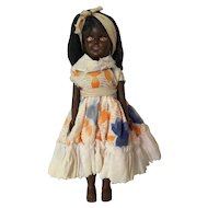 Black Doll with Amber Eyes