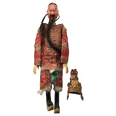 Vintage Chinese Puppet Doll Opera